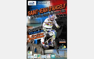 Coupe de France à St Jean d'Angely (17) les  13/14 Avril